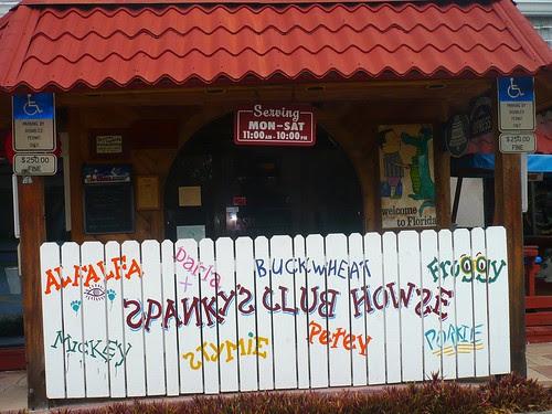 Spanky's Speakeasy Entrance