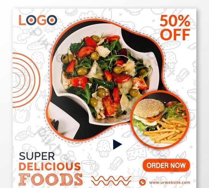 Gambar Makanan Untuk Banner - contoh desain spanduk