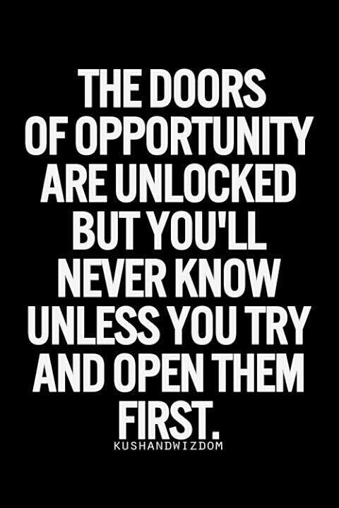 Door Opportunity Quotes What I Really Think When Reading