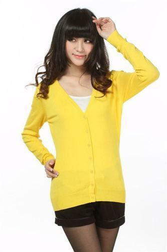 Saudi arabia for cardigan clothing women yellow bright collection exercise