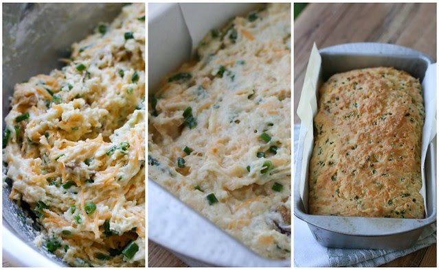 Cheese & Chive Bread Collage 2