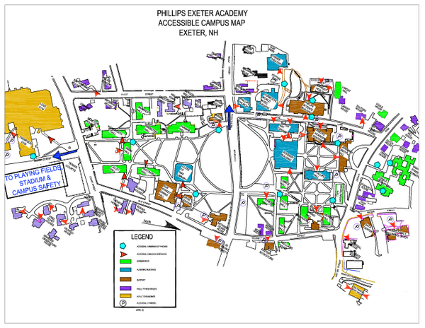 St Philips Campus Map Global Map