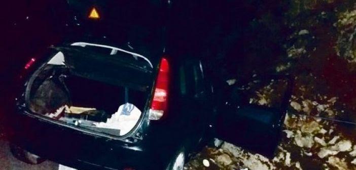 Τροχαίο ατύχημα στο 6ο χλμ Αμφιλοχίας – Λευκάδας (ΔΕΙΤΕ ΦΩΤΟ)