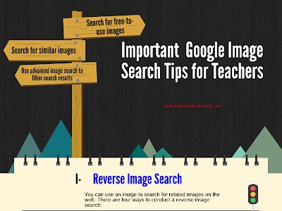 Some Very Good Google Image Tips for Teachers