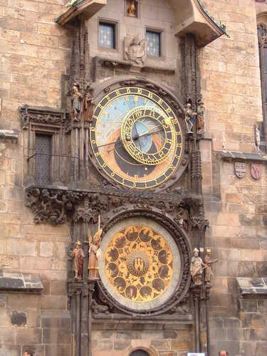 Relógio Astronômico Orloj em Praga
