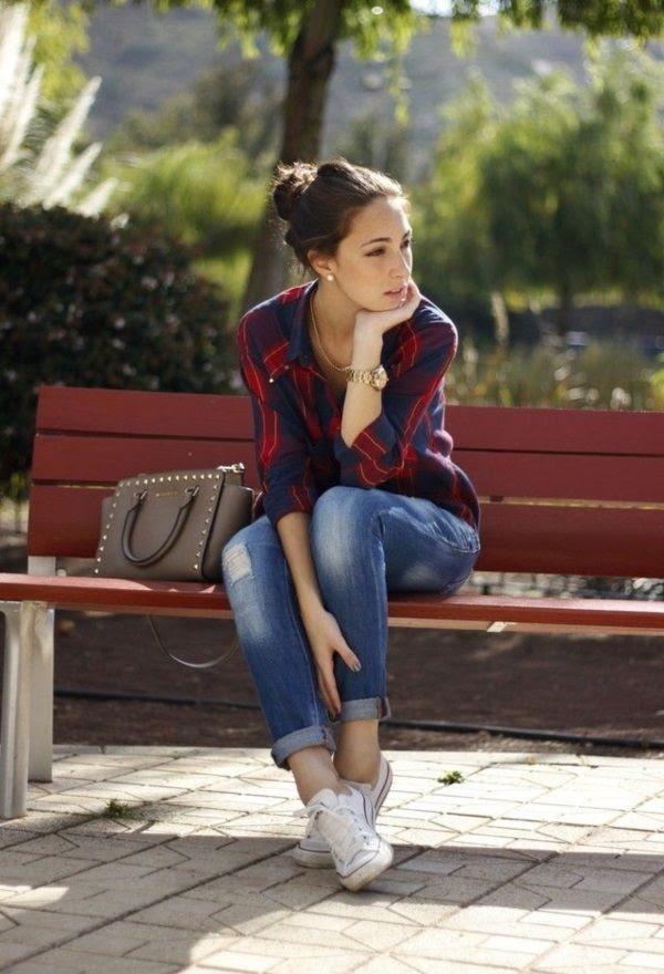 22 Looks Que Puedes Obtener Con Solo Una Camisa A Cuadros