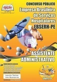 Apostila EBSERH PE - Assistente Administrativo
