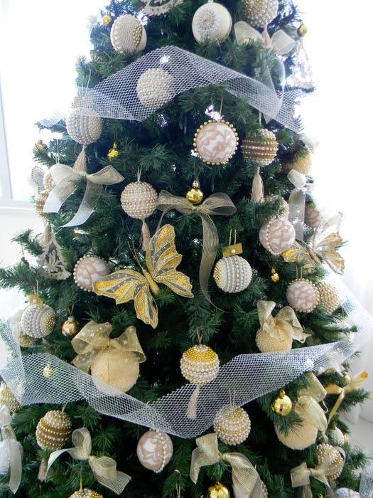 Bolas de Navidad preciosos y abeto de perlas y cuentas (35) (525x700, 328Kb)