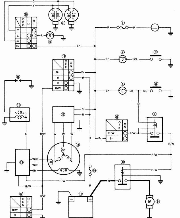 1989 club car battery wiring diagram schematic image 8