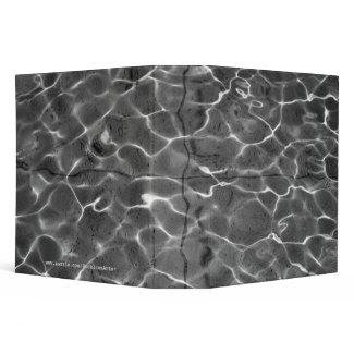 After Hockney - Black & White: Light on water zazzle_binder
