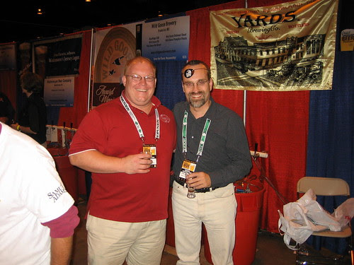 at the 2006 GABF: Tom Kehoe(l), Tom Cizauskas(r)