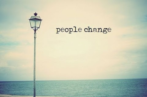 People can change, but memories can't