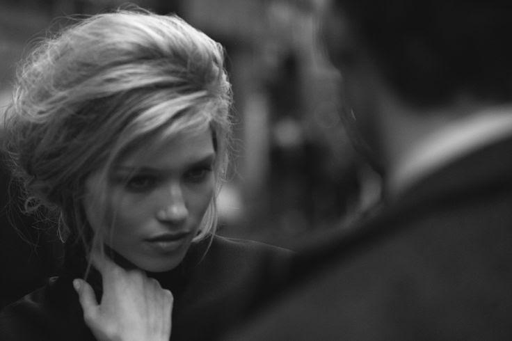 Hana Jirickova by Peter Lindbergh