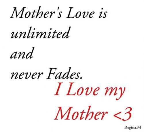 Top 100+ Mother Love Images With Quotes