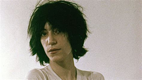 patti smith   beauty icon   choppy bob