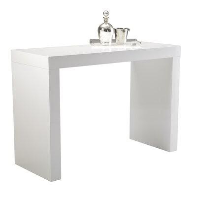 Sunpan Modern Faro High Gloss C Shape Bar Table Modern