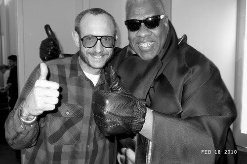 Terry Richardson & Andre Leon Talley