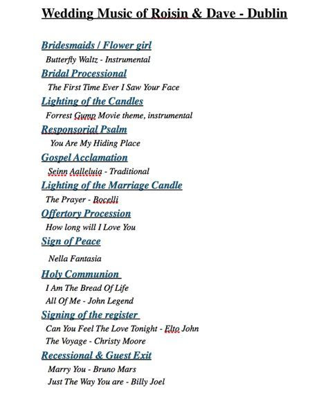 Wedding Processional Songs, Recessional Music, Church