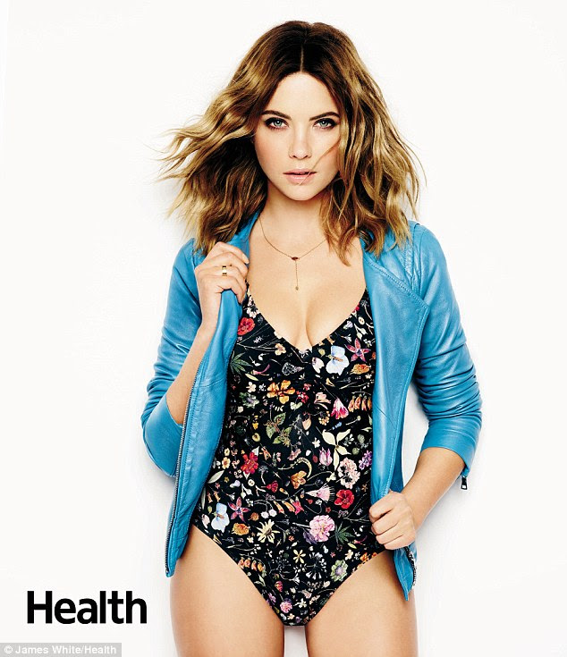 Body goals: Ashley Benson revealed to the March edition of Health that she would swap bodies with Channing Tatum's wife Jenna