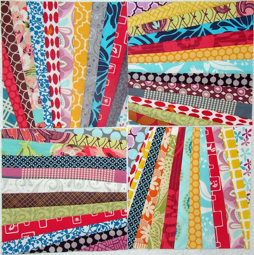 August Simply Strings Block for SheReads