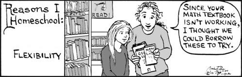 Home Spun comic strip #492