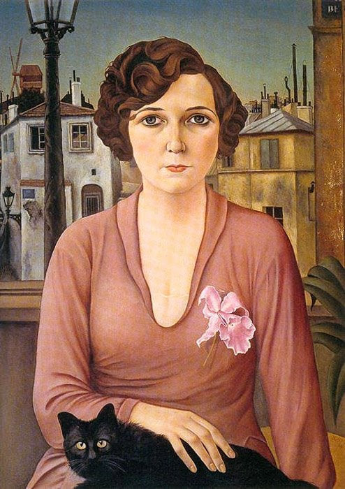 Christian Schad, Marcelle, 1926