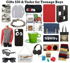... Blog: 2013 Holiday Gift Ideas for Teen Boys (Under $50 and $100) More