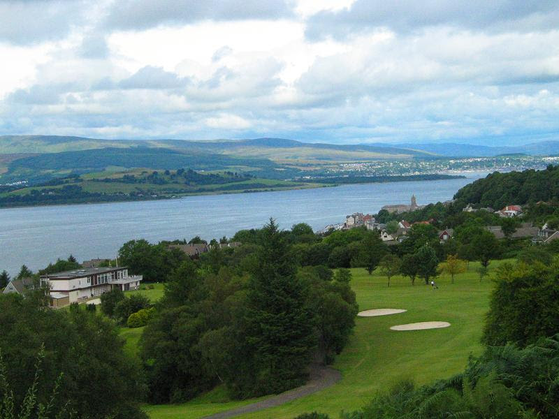 Gourock Golf Club -- Click to enlarge