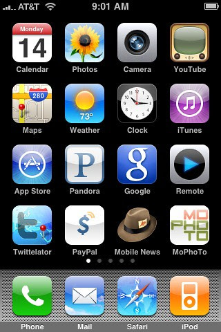 My iPhone's Home Screen