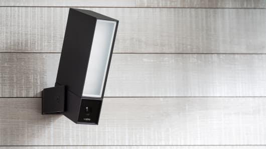 Netatmo outdoor security camera.