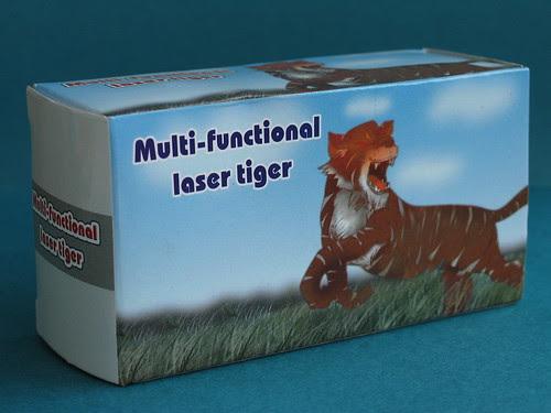 Multi-functional laser tiger box
