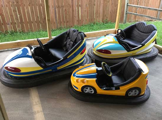 2 Seat Fairground Bumper Cars for Sale