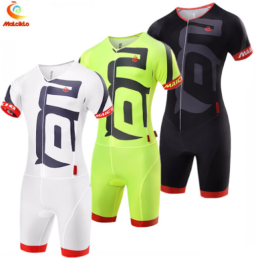 a044c6c4615 Compare Prices Malciklo Men's Fluo Yellow 2018 Ropa Ciclismo Maillot Cycling  Jersey Bike Clothing Triathlon Sport for Cycling Swimming Running Cheap