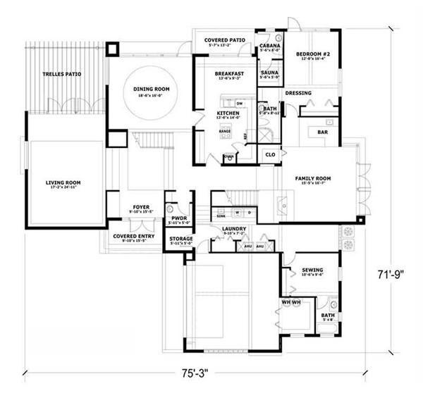 Pai Play Concrete House Design Plans