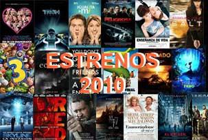 Todos los estrenos del 2010