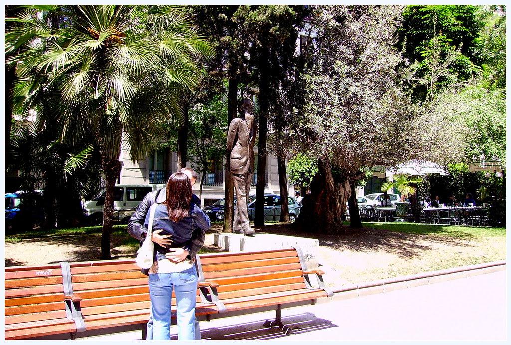 El primero que paseó con poncho por la calle de Alcalá se va a extrañar