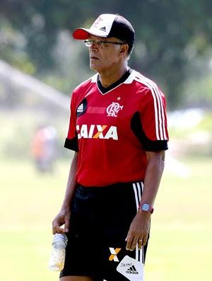 Jayme de Almeida treino do Flamengo (Foto: Cezar Loureiro / Agência O Globo)