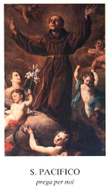 Saint Pacifique. Capucin à San Severino († 1720)