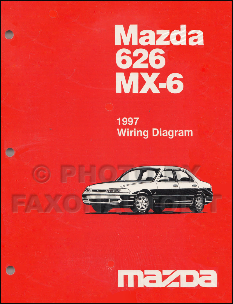 1997 Mazda 626 and MX-6 Body Electrical Troubleshooting ...