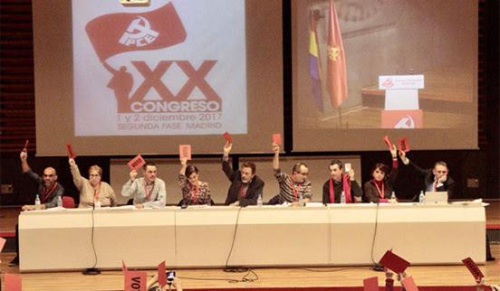 Le Parti Communiste d'Espagne (PCE) renoue avec le Marxisme-Léninisme
