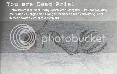 You're Dead Ariel.