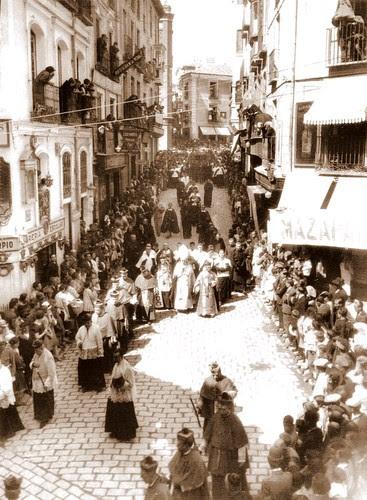 Corpus a principios del siglo XX