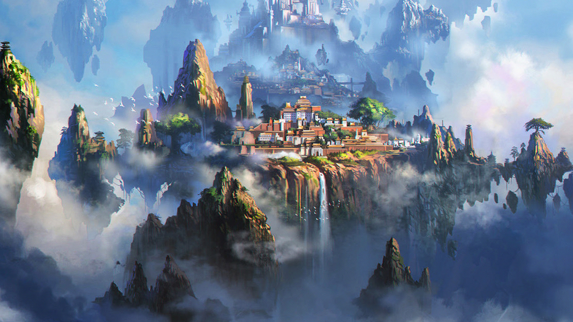 I Love Papers | av35-cloud-town-fantasy-anime-liang-xing ...