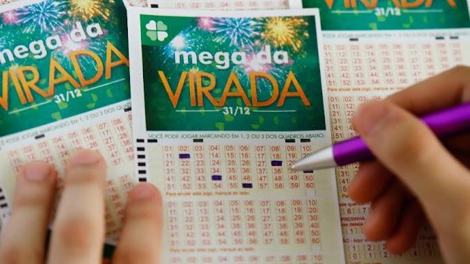 SORTE GRANDE | Mega da virada tem apenas duas apostas ganhadoras; confira os números sorteados