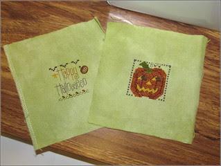 Happy Pumpkin scissor fob as of 8/15/13
