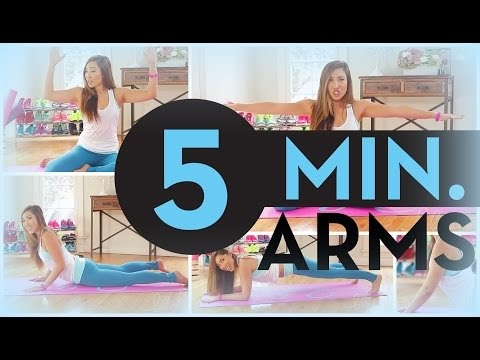 5 minute Toned Arms...!