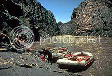 whitewater rafting in summer in Utah