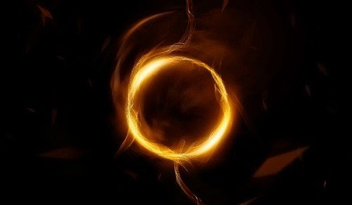 Create an Abstract Golden Circle with Smoke Brushset in Photoshop