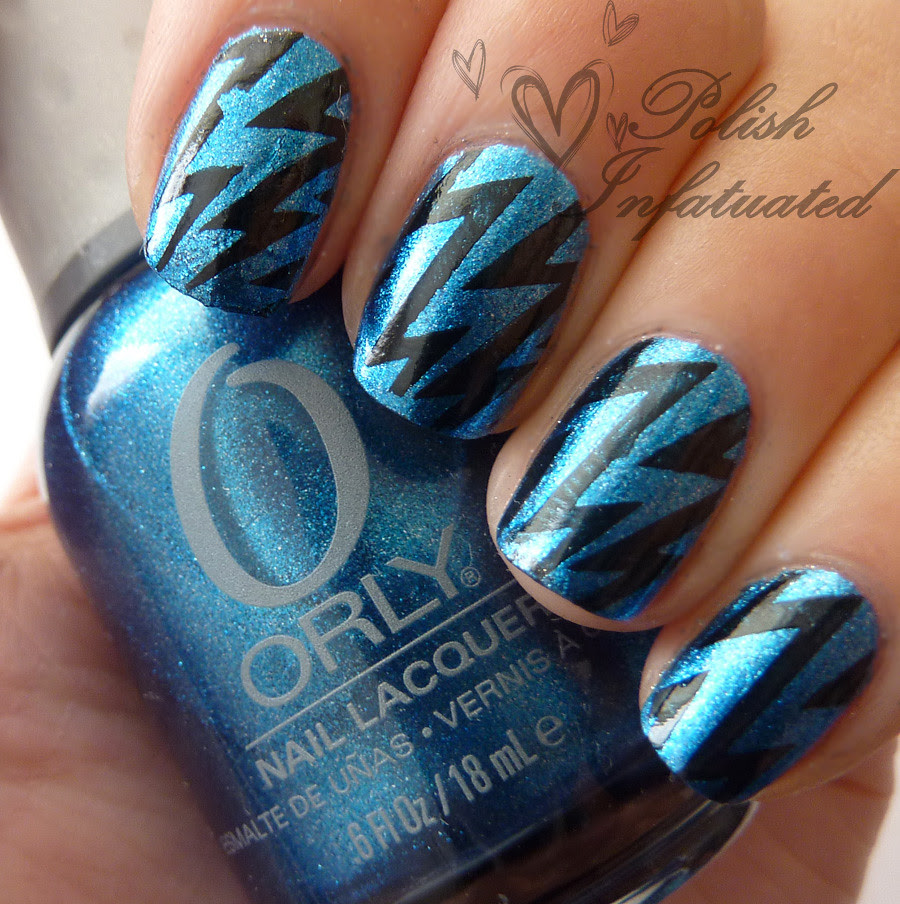 blue and black lightning bolts1