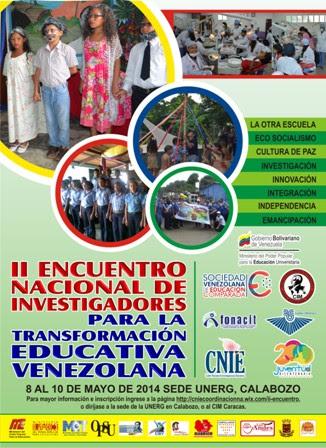 Afiche de Encuentro de Investigadores